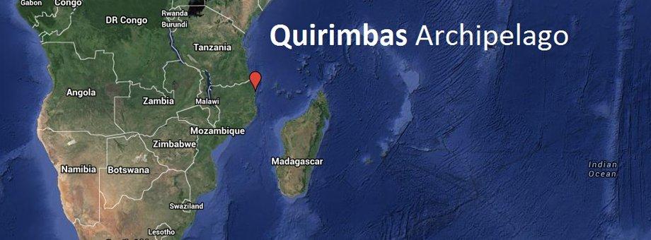 Quirimbas Map
