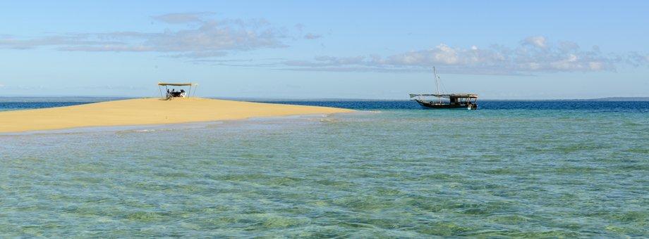 Ibo island sand bank