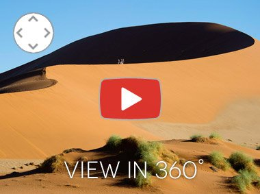 Namibia 360 VR footage