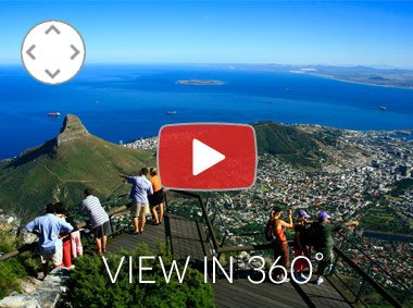 Cape Town 360 VR footage