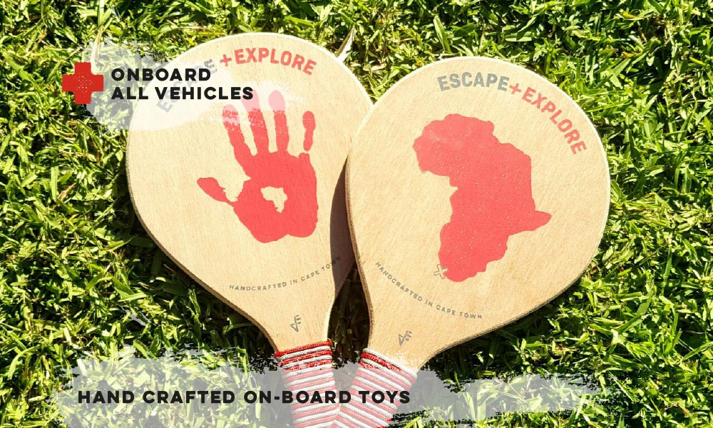 Hand Crafted On-Board Toys