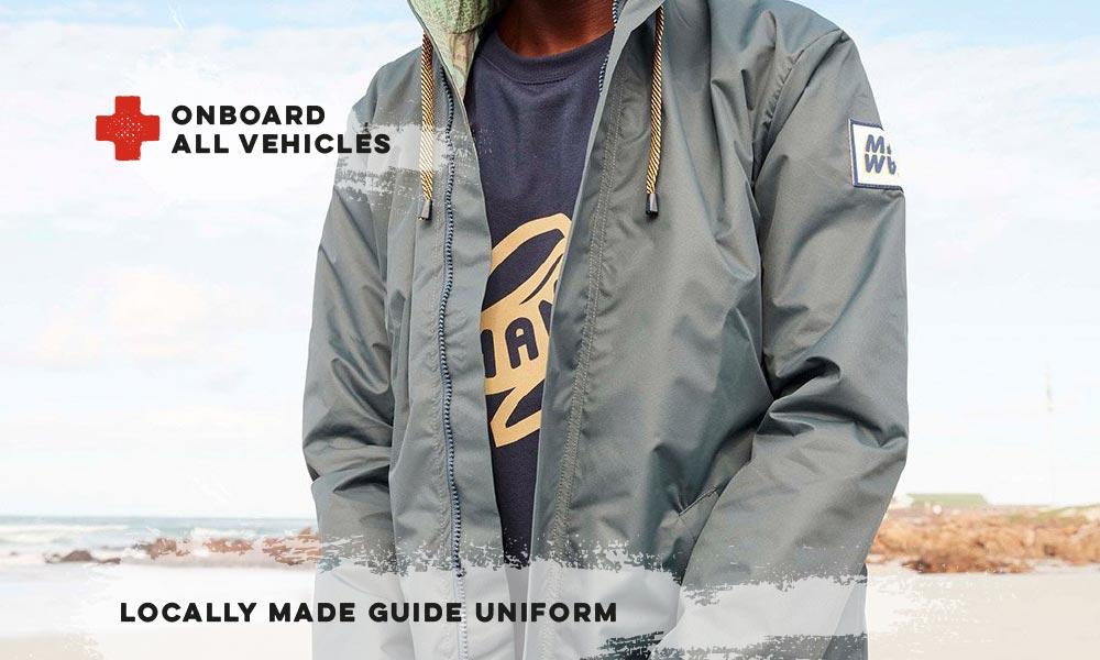 Locally made guide uniform