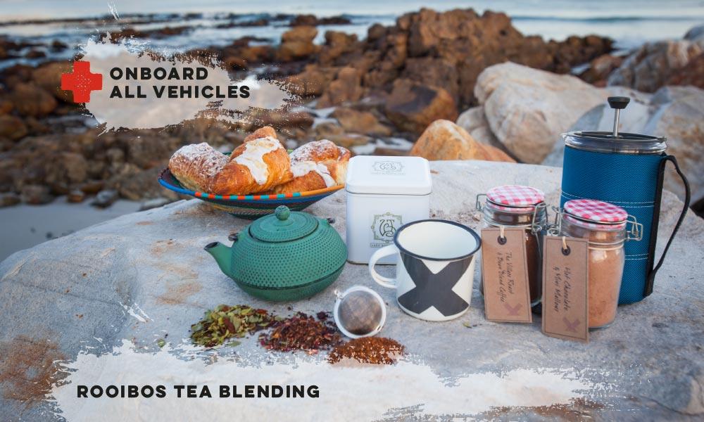 Rooibos Tea Blending