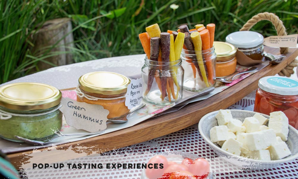 Pop-Up tasting experiences