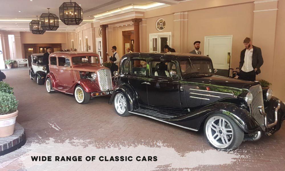 Wide Range of Classic Cars